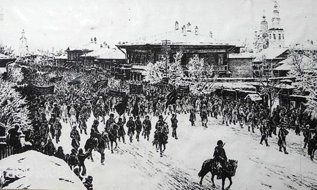 Лекция «Революционные события 1917 года и гражданская война в Ачинском уезде»